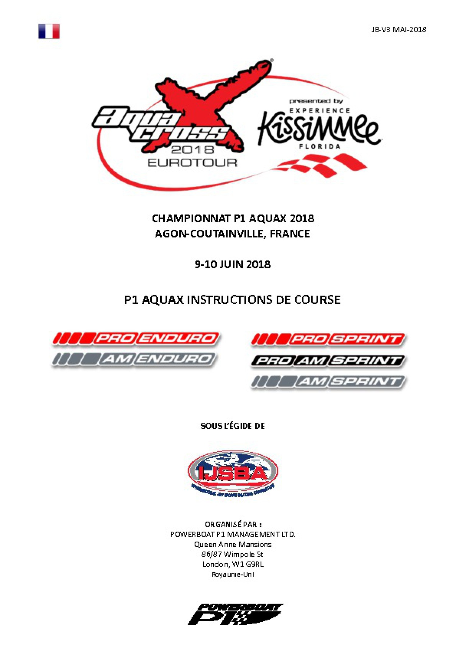 Agon-Coutainville / Instructions de course en FRA