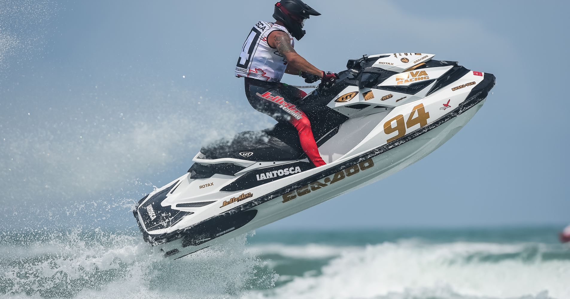 Erminio Iantosca had a brilliant weekend and finished amongst the top Yamaha riders aboard his Sea-Doo