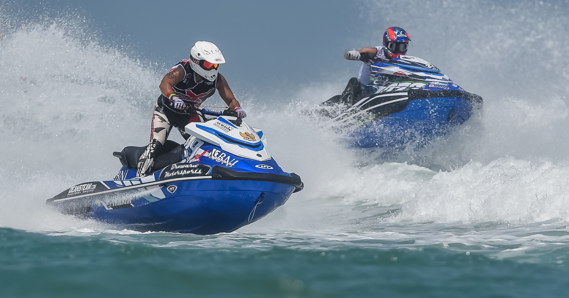 There were some huge waves in Daytona Beach that made for an excellent weekend of racing