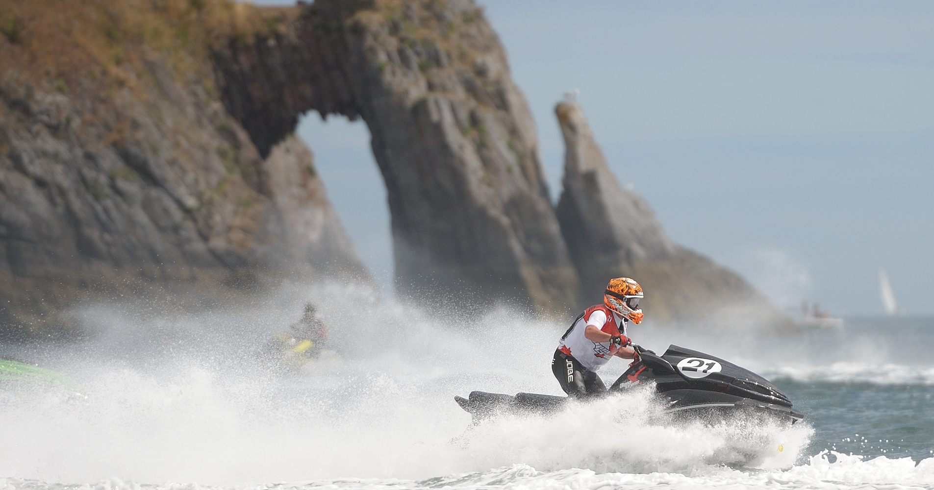Torquay hasn't hosted AquaX racing since 2014 but is a welcome addition to the 2017 calendar
