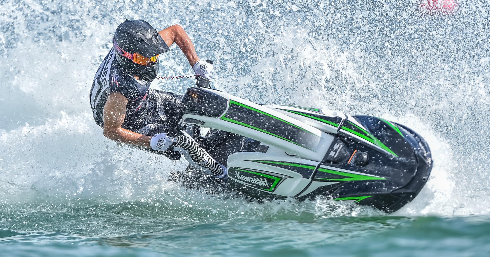 Kawasaki SX-R on show in Ft Lauderdale finale - P1 AquaX