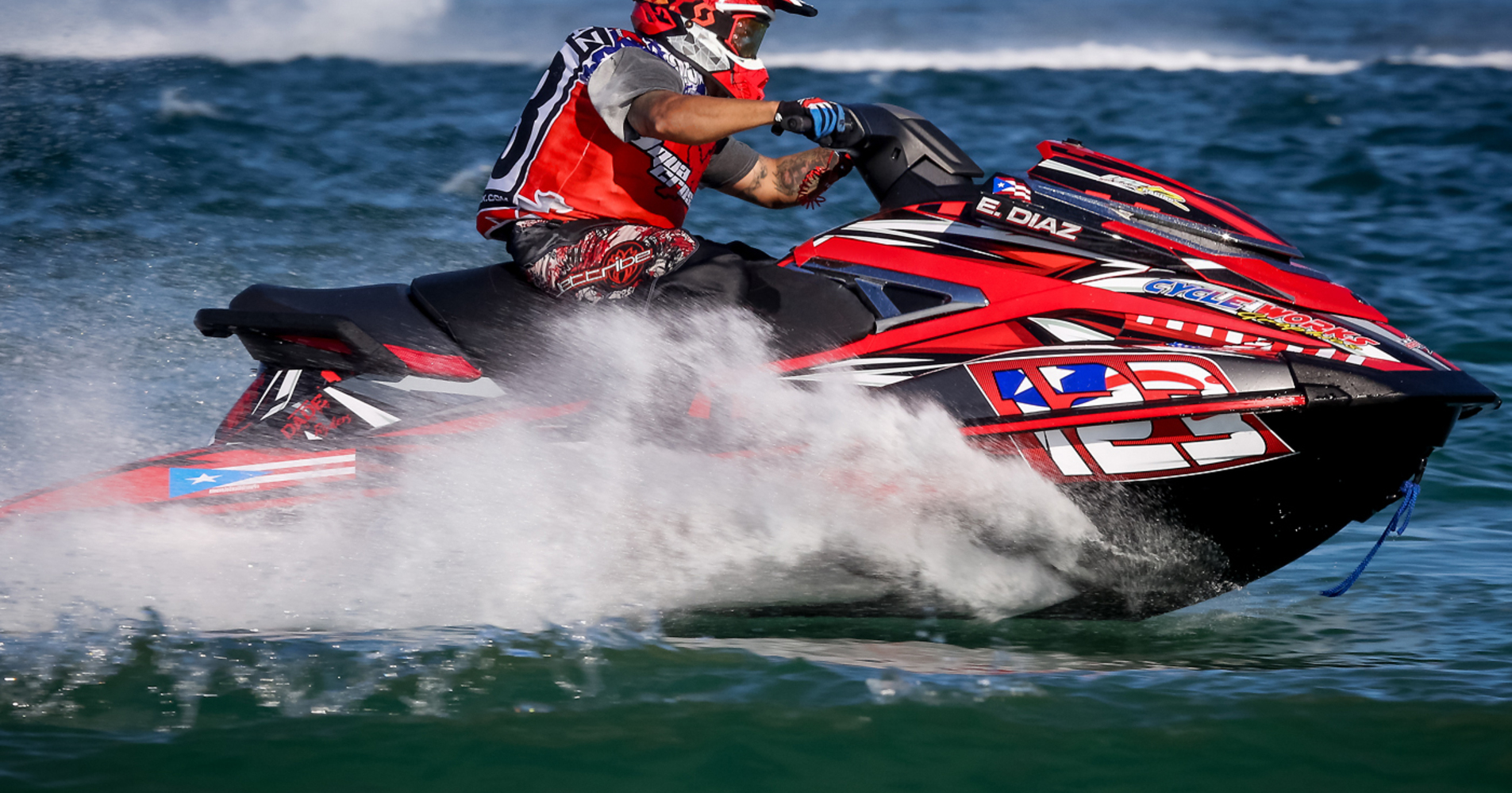 Eric Diaz, reigning 200 class champ, is looking to double up in Key West