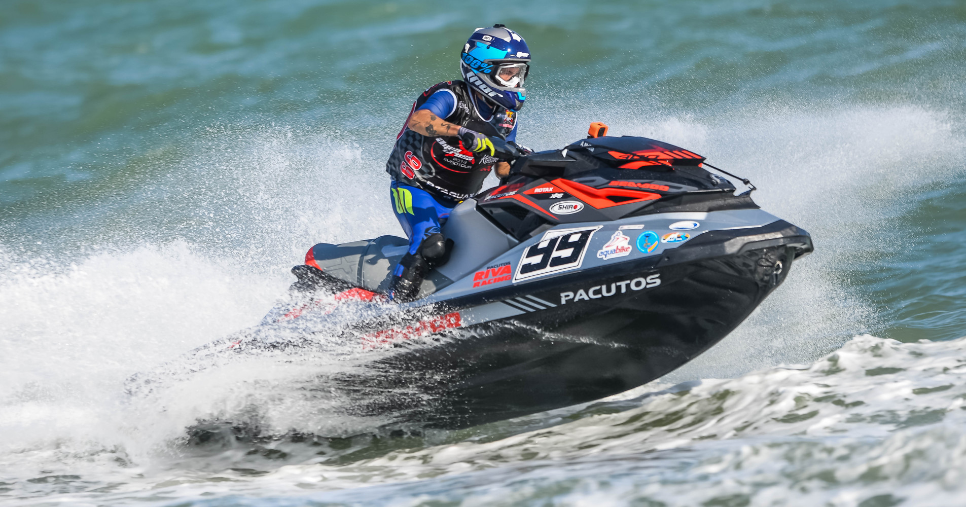 Favolini on fire at the finale of the P1 AquaX EuroTour - P1 AquaX