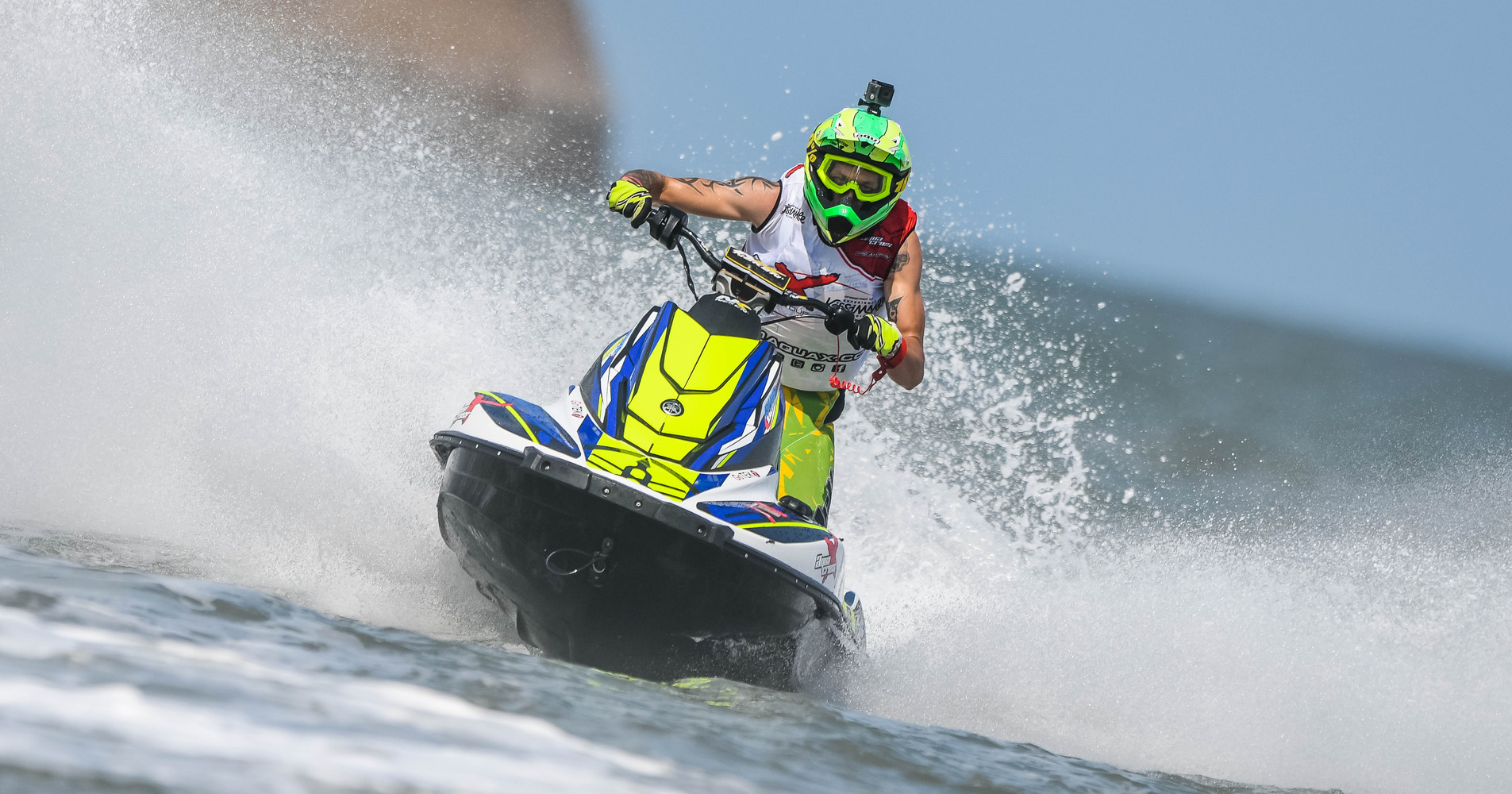 2018 AquaX EuroTour Sprint SE champion - Thibault Olivier on his Yamaha EX
