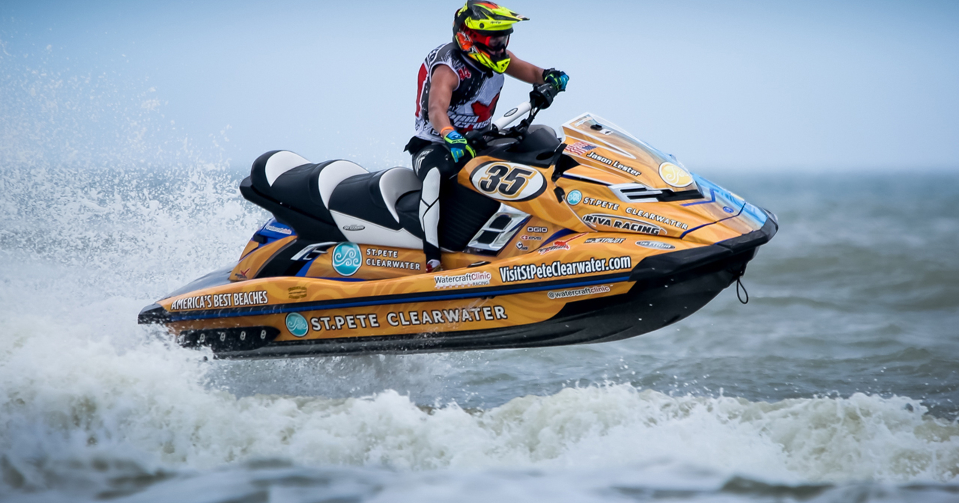 St Pete Beach/Clearwater rider Jason Lester