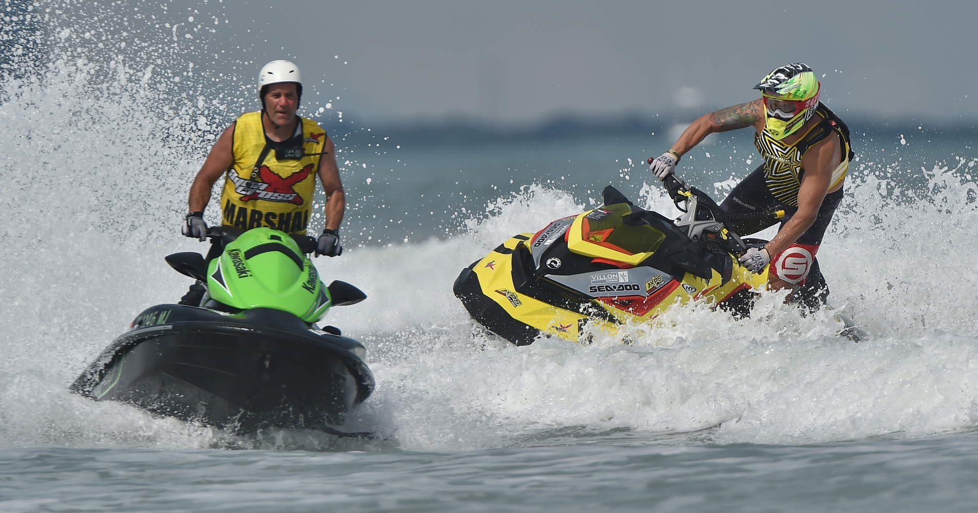 ECS will be working closely with the P1 AquaX Marshal team