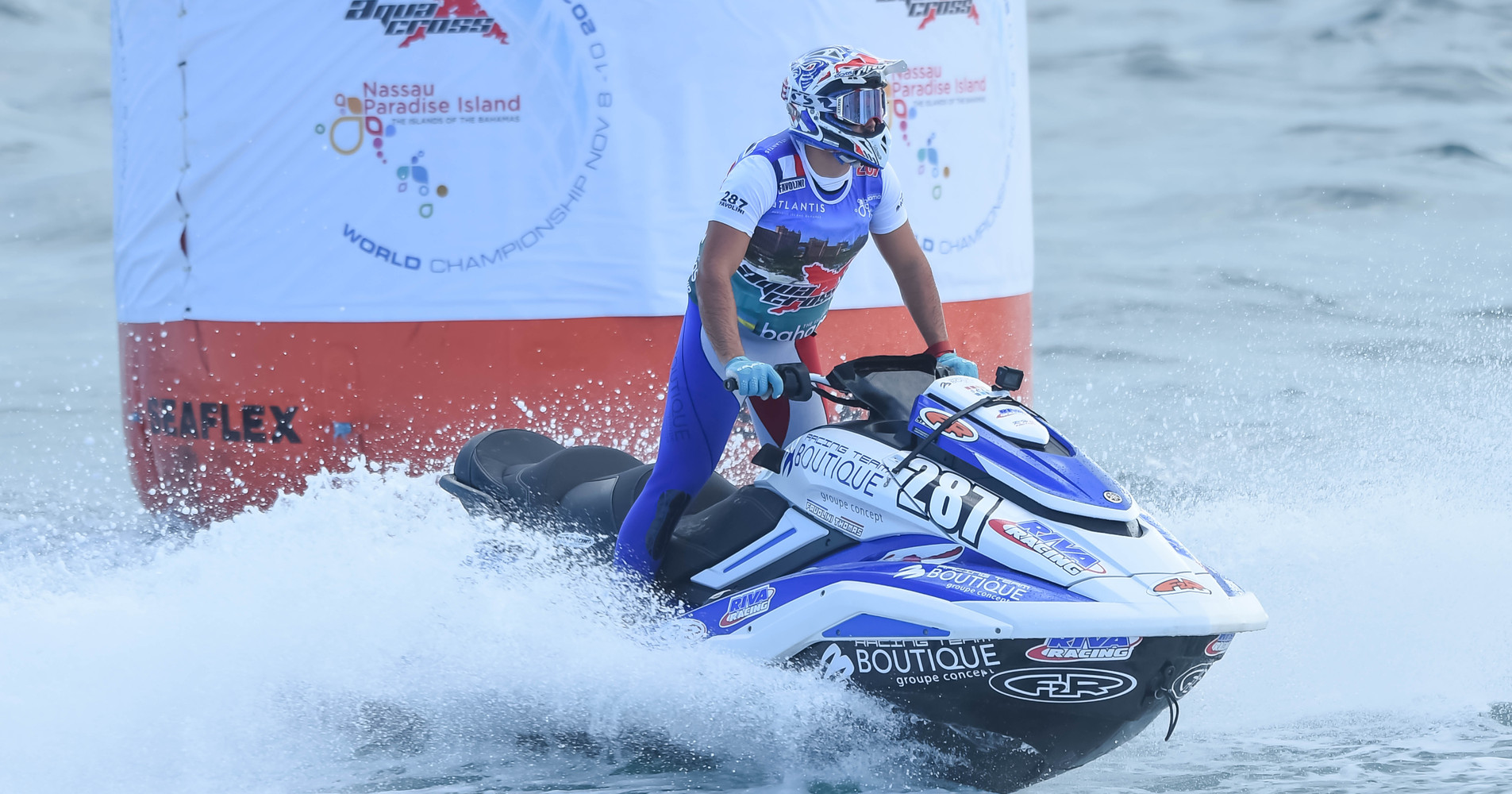 2019 AquaX Pro Enduro Vice-Champion, Thomas Favolini took the top spot in qualification session