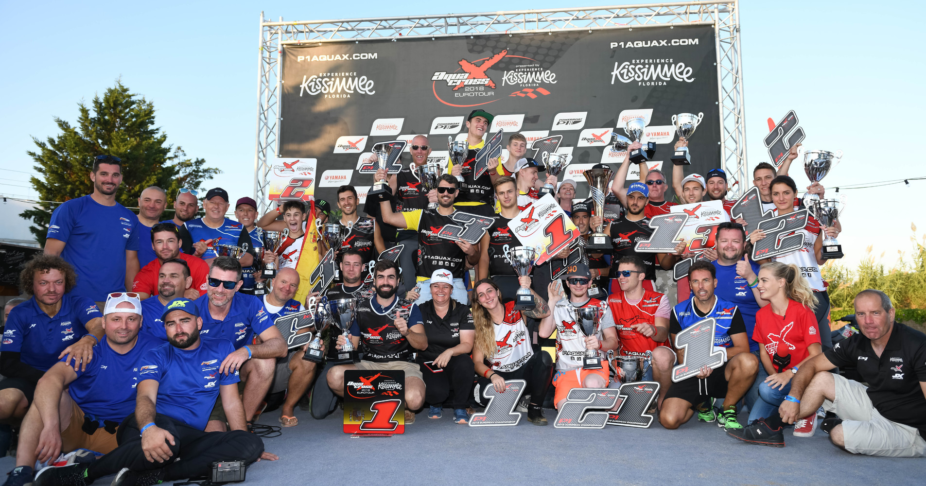 AquaX Podium