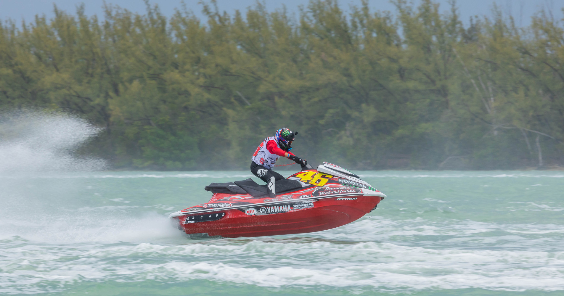 USA's Chris MacCluggage is the current #1 AquaX World Ranked Rider