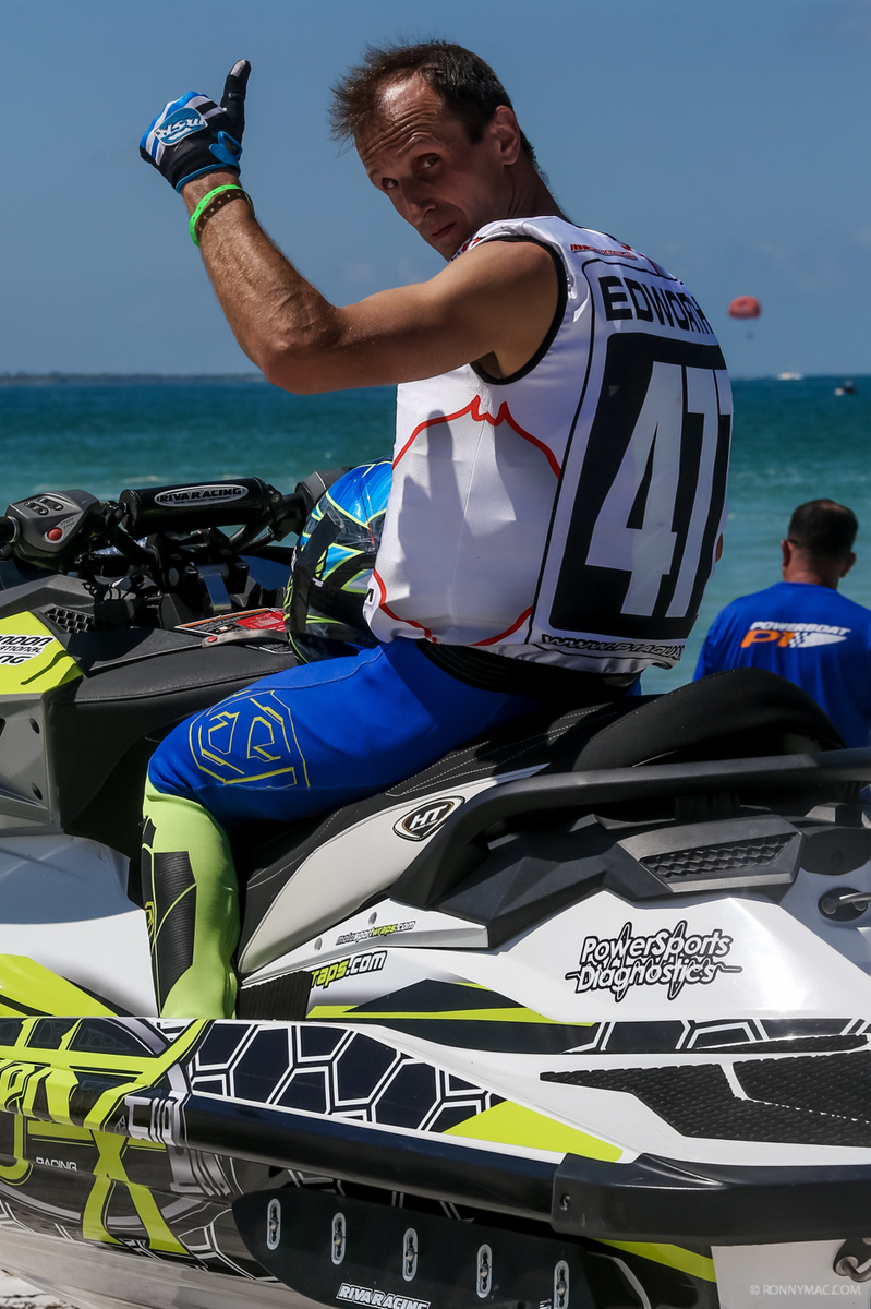 Edworthy currently sits 9th in the AquaX World Rankings