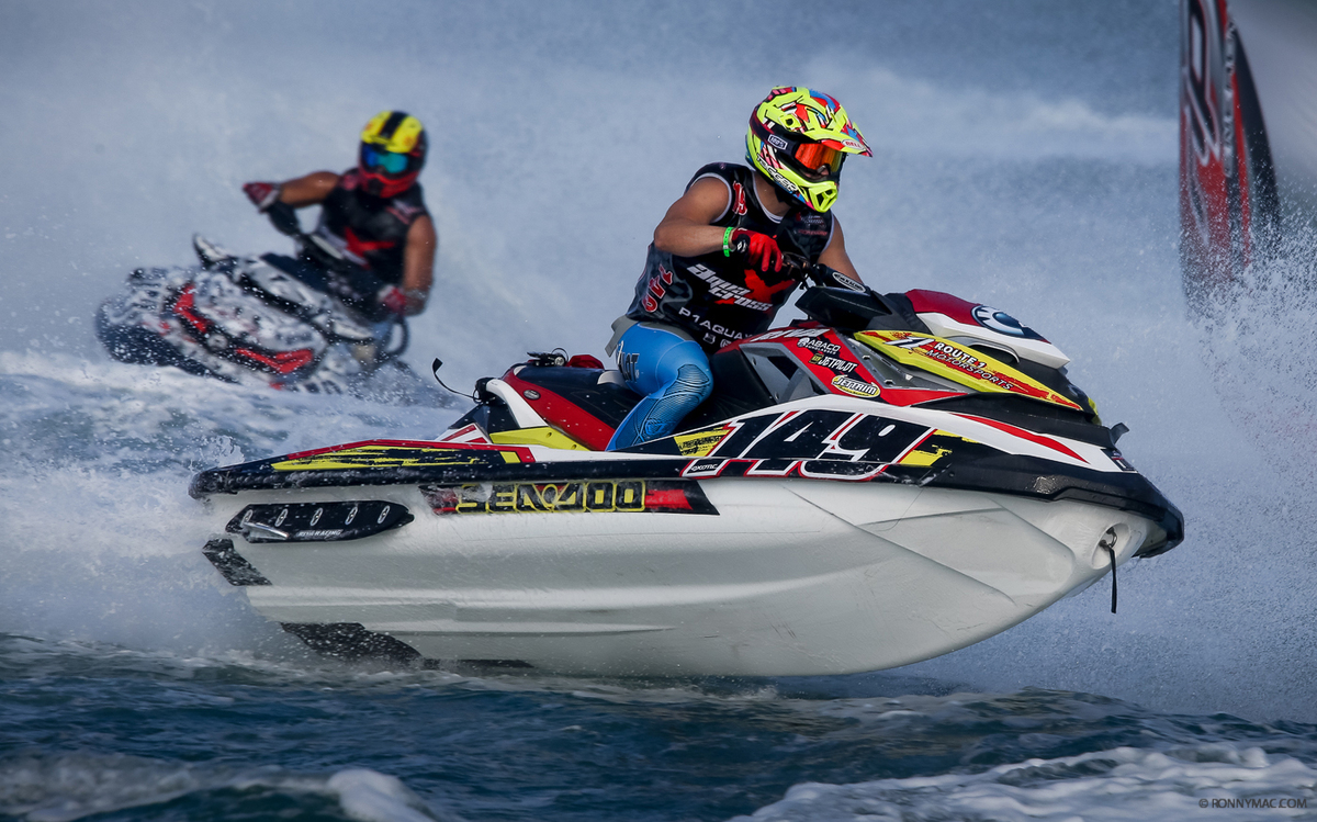 #149 Sea-Doo X-Team racer Tim Ducat number 41st in the AX World Rankings