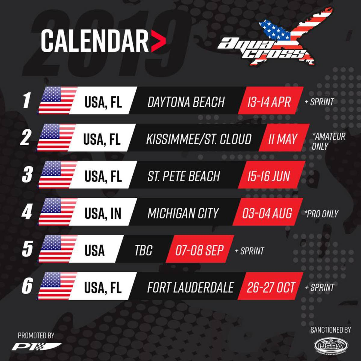 Races Calendar 2019 P1 Announces Biggest Ever Race Calendar for 2019   P1 AquaX