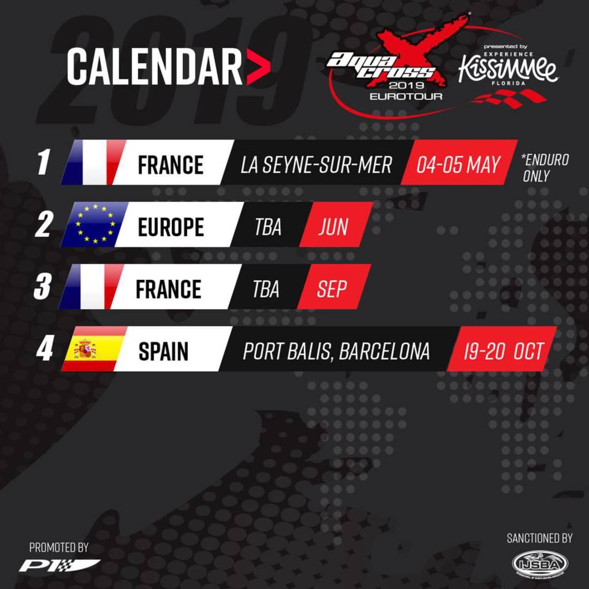 Race Calendar.P1 Announces Biggest Ever Race Calendar For 2019 P1 Aquax