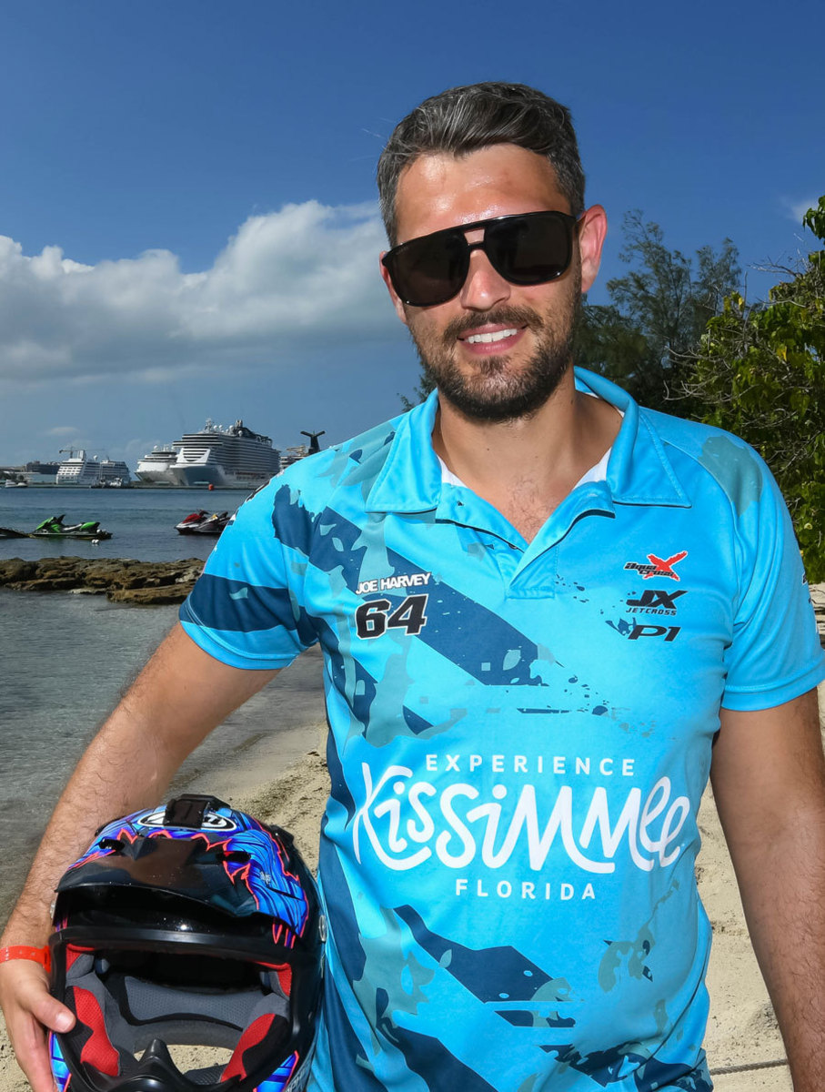 British rider Joe Harvey is ready to rumble in Paradise Island