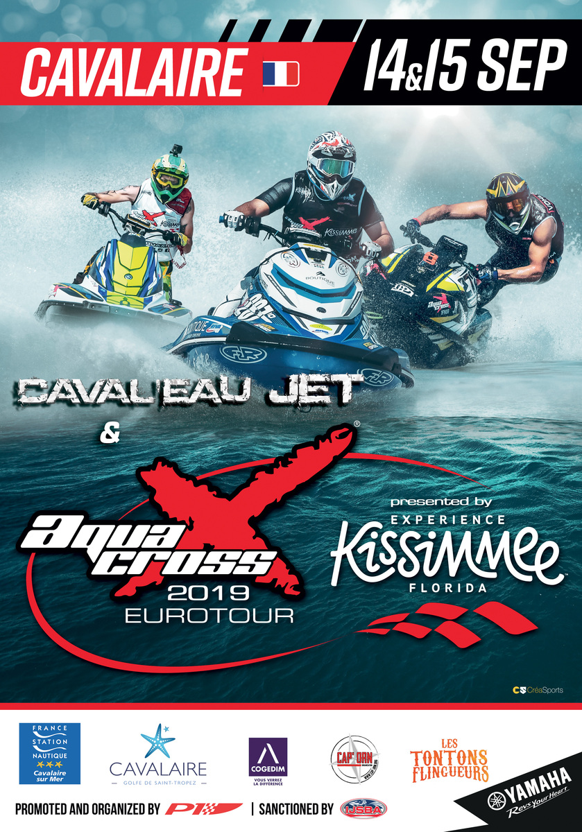 Caval'Eau Jet & P1 AquaX for a tremendous event at the French Riviera