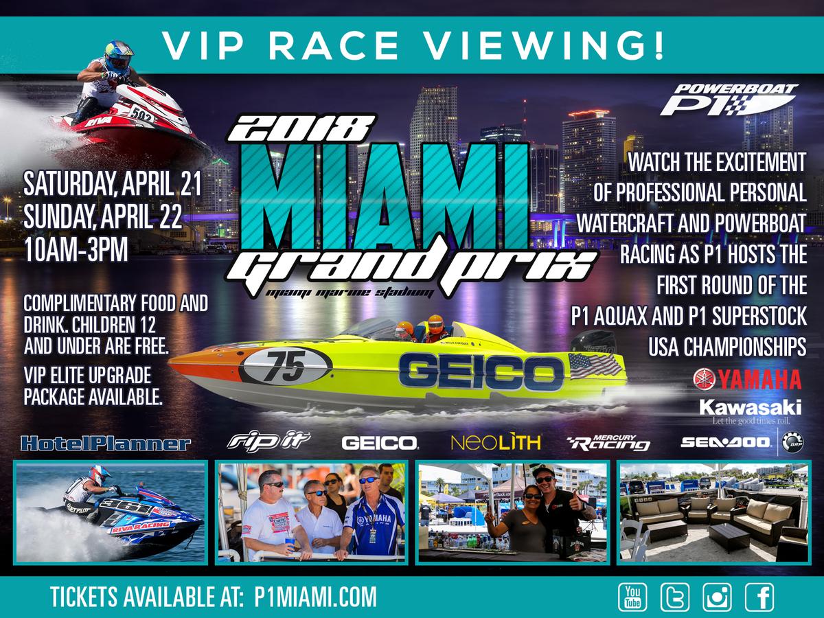 Miami Marine Stadium - P1 AquaX
