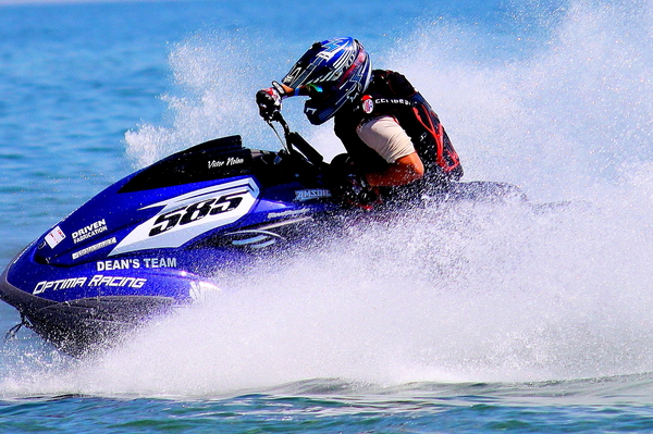 Victor Nolan makes his P1 AquaX debut in Daytona Beach, on 23-24 April