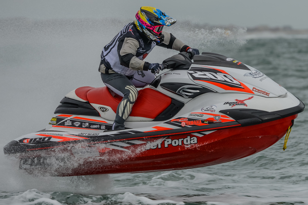 Phil Pope picked up the Enduro 300 class title