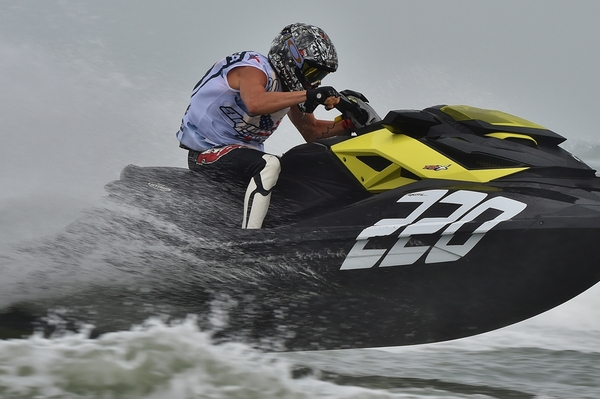 Blaine Spooner is back with Sea-Doo after time away from racing