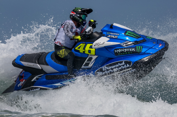 Chris MacClugage produced a breathtaking display of racing to land both races on day one in Daytona Beach