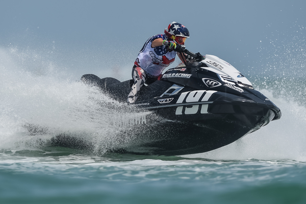 Sophie Francis raced hard all weekend but was disqualified for a breach in the rules