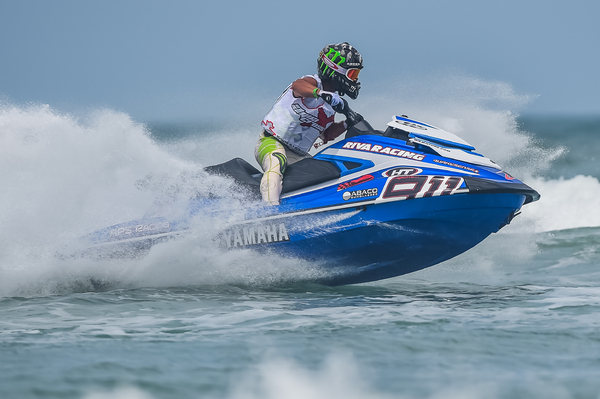 Eric Francis secured second in Daytona Beach but will hoping for more from round two