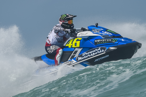 MacClugage was unstoppable in the Daytona surf and now holds a commanding lead in the championship standings