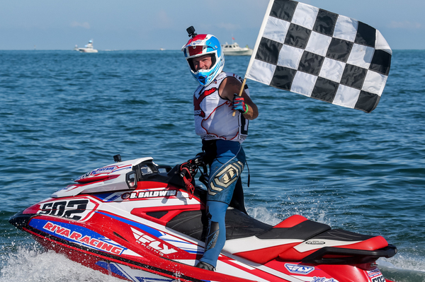 Brian Baldwin moves into second in the championship after victory in Sarasota