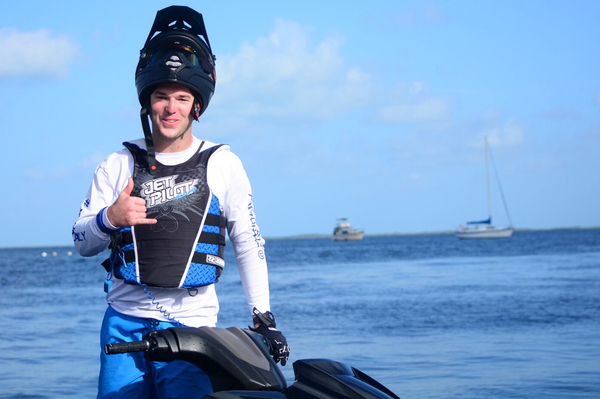 Brandon Diaz is hopeful of a top 10 finish on his AquaX debut