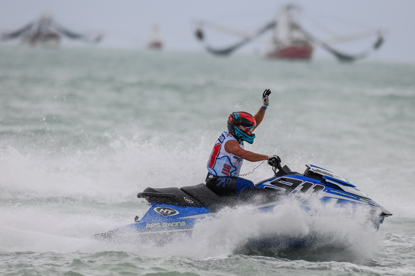 Eric Francis took victory in race one and holds the advantage heading into day two