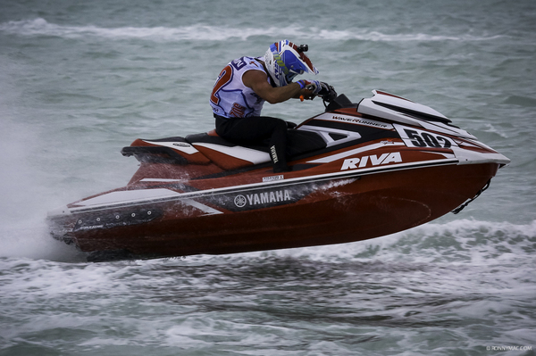 Brian Baldwin completed a RIVA Racing 1-2-3 on Saturday