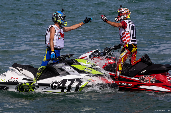 The 2018 P1 AquaX calendar covers five countries across 14 events
