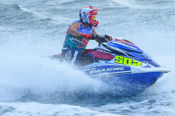 Current AquaX World Champion & number 1 at the World ranking, Brian Baldwin will start at the fourth position on tomorrow race 1