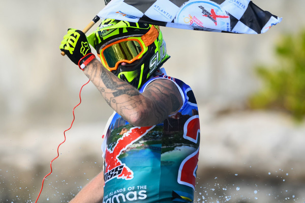 Simon Gill is the first ever AquaX Pro Sprint World Champion
