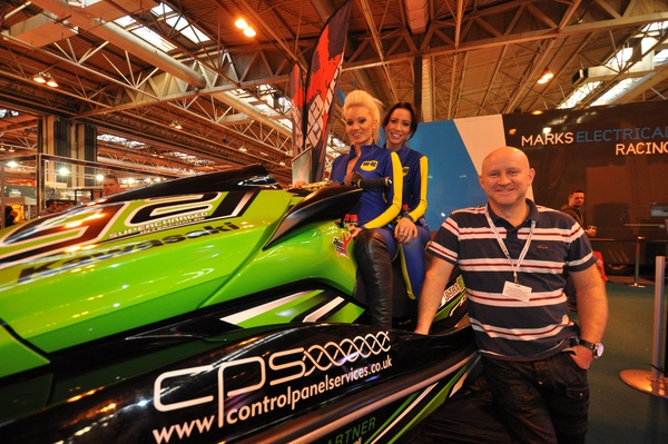 AquaX Racer Richard Cable's Ultra 300 drew the crowds
