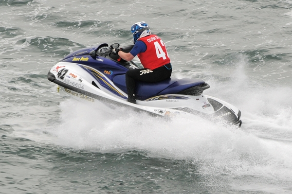 Duncan Johnstone - Reigning AquaX 200 Champion leads the class