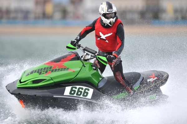 Russell Marmon - the 2012 AquaX 300 Champion