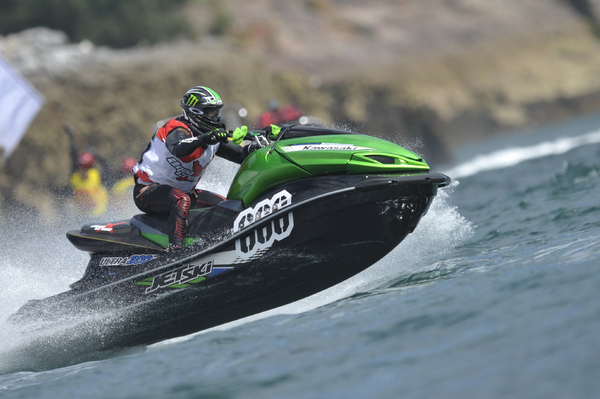 Russell Marmon won the Torquay AquaX Cup