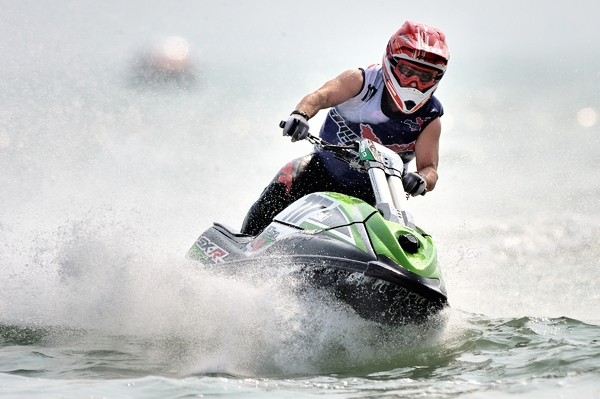 Lewis Goodchild AquaX Ski Champion