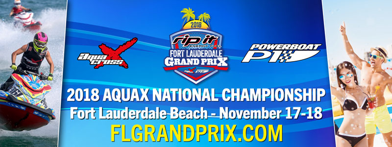 P1 AquaX National Championship - Fort Lauderdale - November 17 - 18 2018