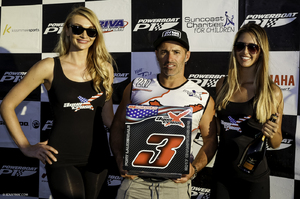 Rius collected third in Ft Lauderdale despite breaking down with a mechanical in the last race