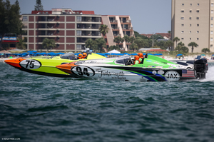 P1 Superstock - P1 Panther race boat