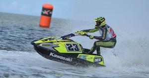 Pro Sprint winner - Simon Gill