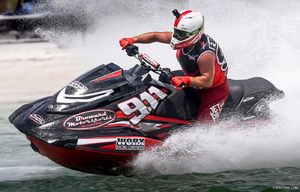 2018 AquaX USA Champion - Eric Francis #911 USA