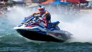 Brian Baldwin Lucas Oil World ranked no.1 AquaX racer
