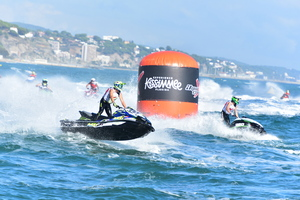 Brilliant Barret shines on the opening day of P1 AquaX Eurotour finals in Port Balis