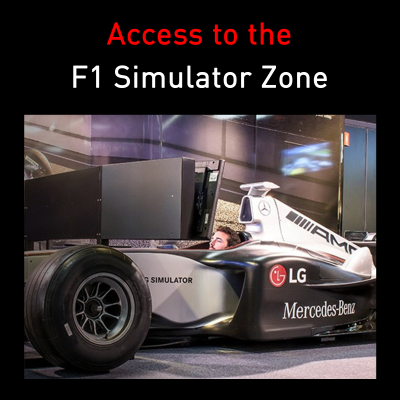 Picture of Access to the Mercedes F1 Simulator Zone