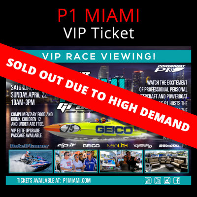 Picture of P1 MIAMI: VIP Ticket