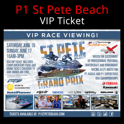 Picture of VIP Ticket - St Pete Beach