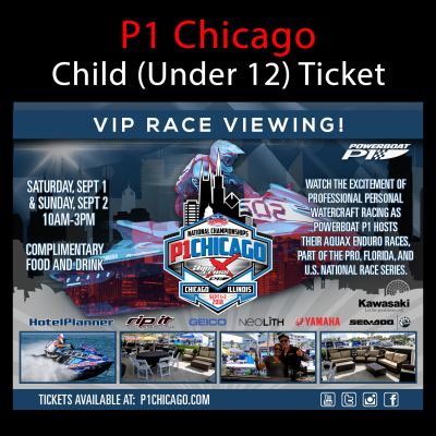 Picture of VIP Ticket (Child Under 12) - Chicago